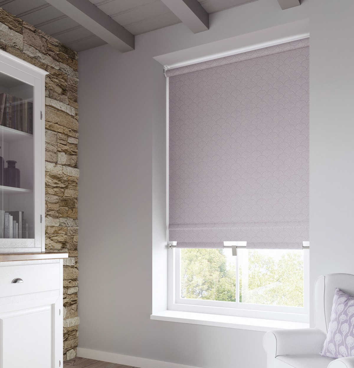Decora Roller Blind - Fabric Box Texture